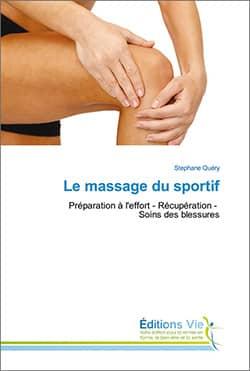 Livre Massage du sportif Stéphane Quéry